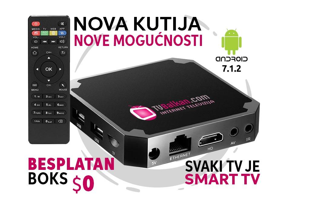 Gledanje besplatni interneta tv preko kanali za TV Uzivo